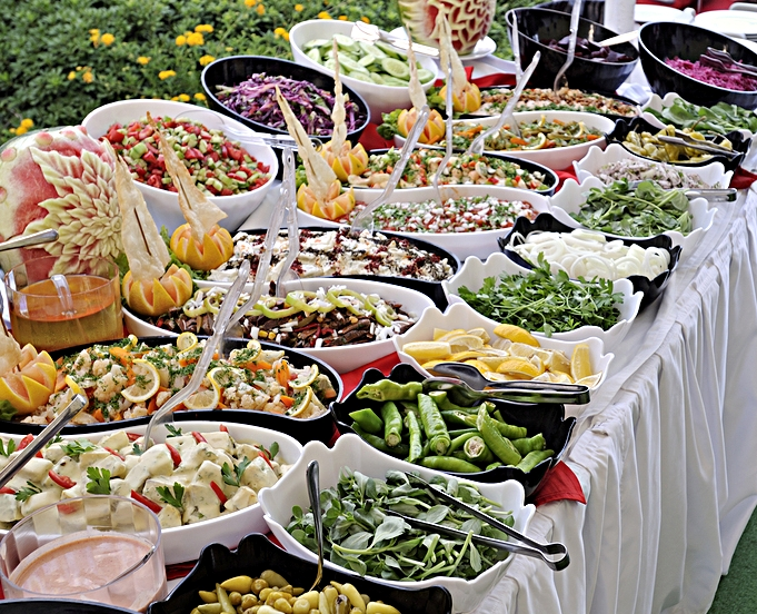 Outdoor Wedding Buffet Salad Ingredients.jpg