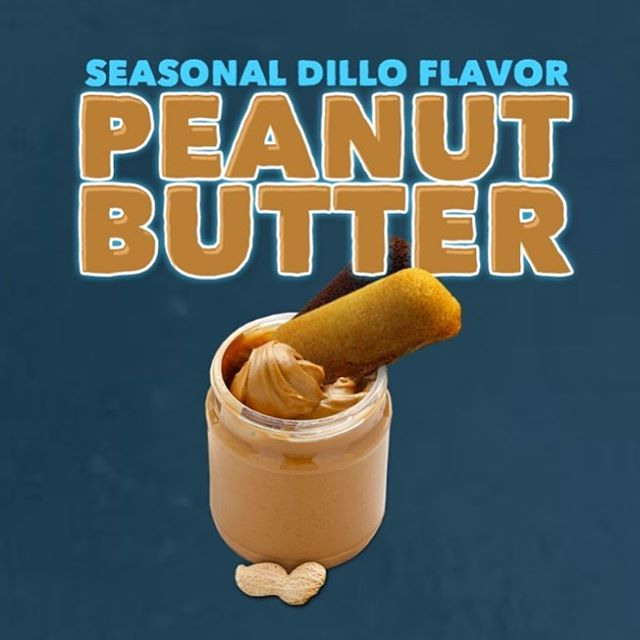 It's peanut butter Dillo time!!! Check your favorite Dillo retailer or order on our website.