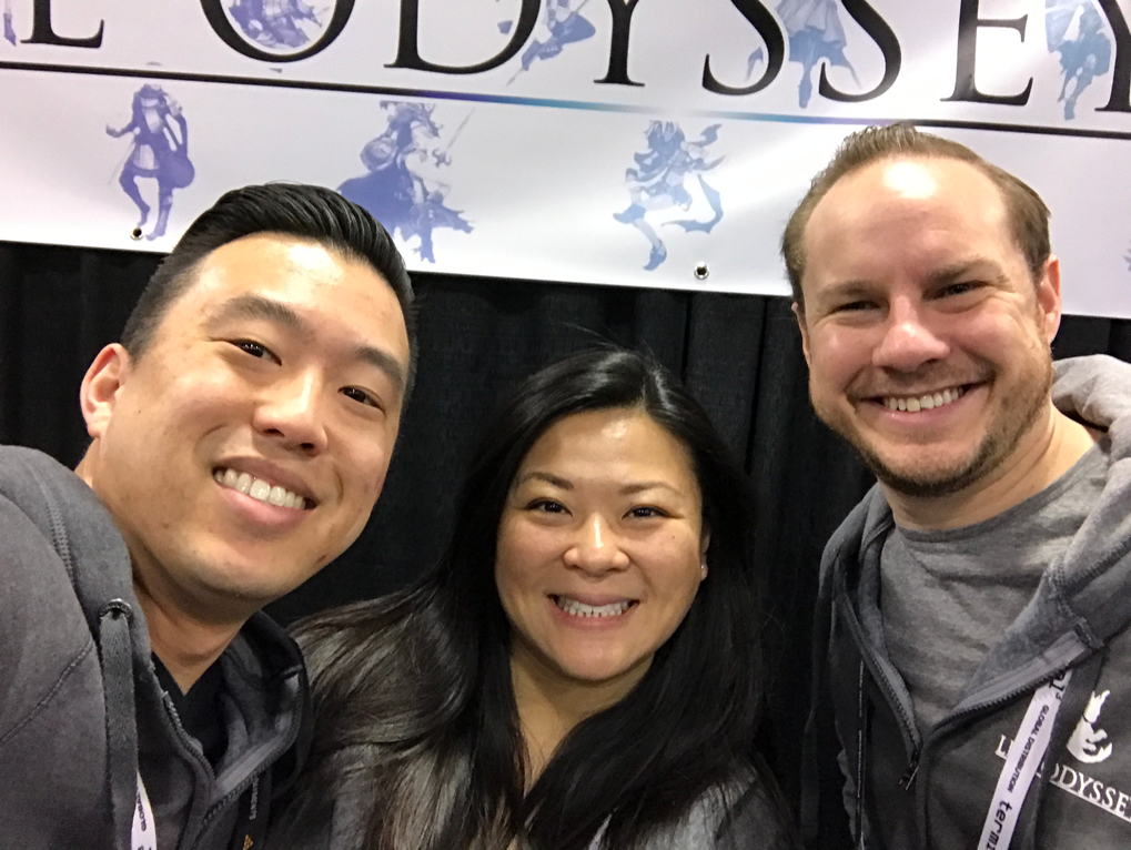 Life Odyssey - Booth Staff Team Selfie