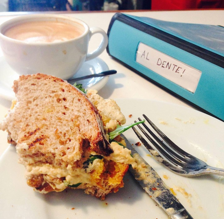 Editor's Note: Who uses a knife on an egg sandwich?