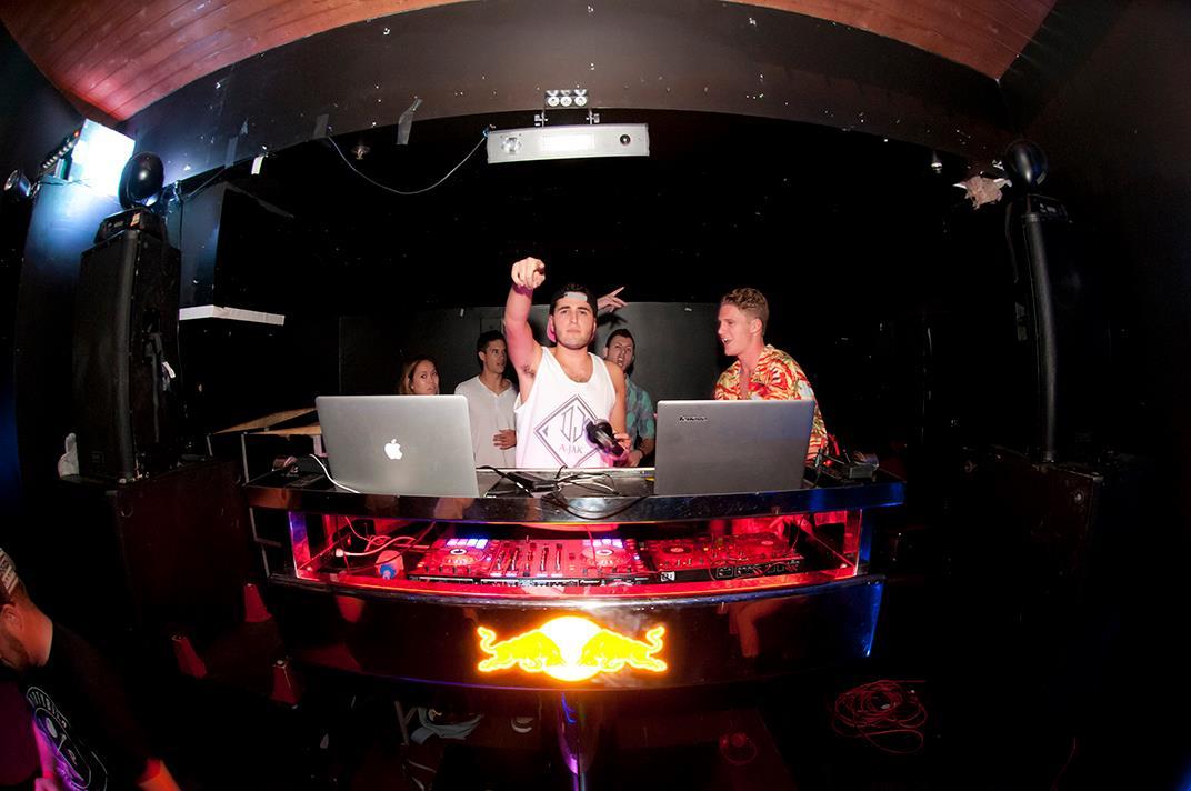 I do DJ stuff -