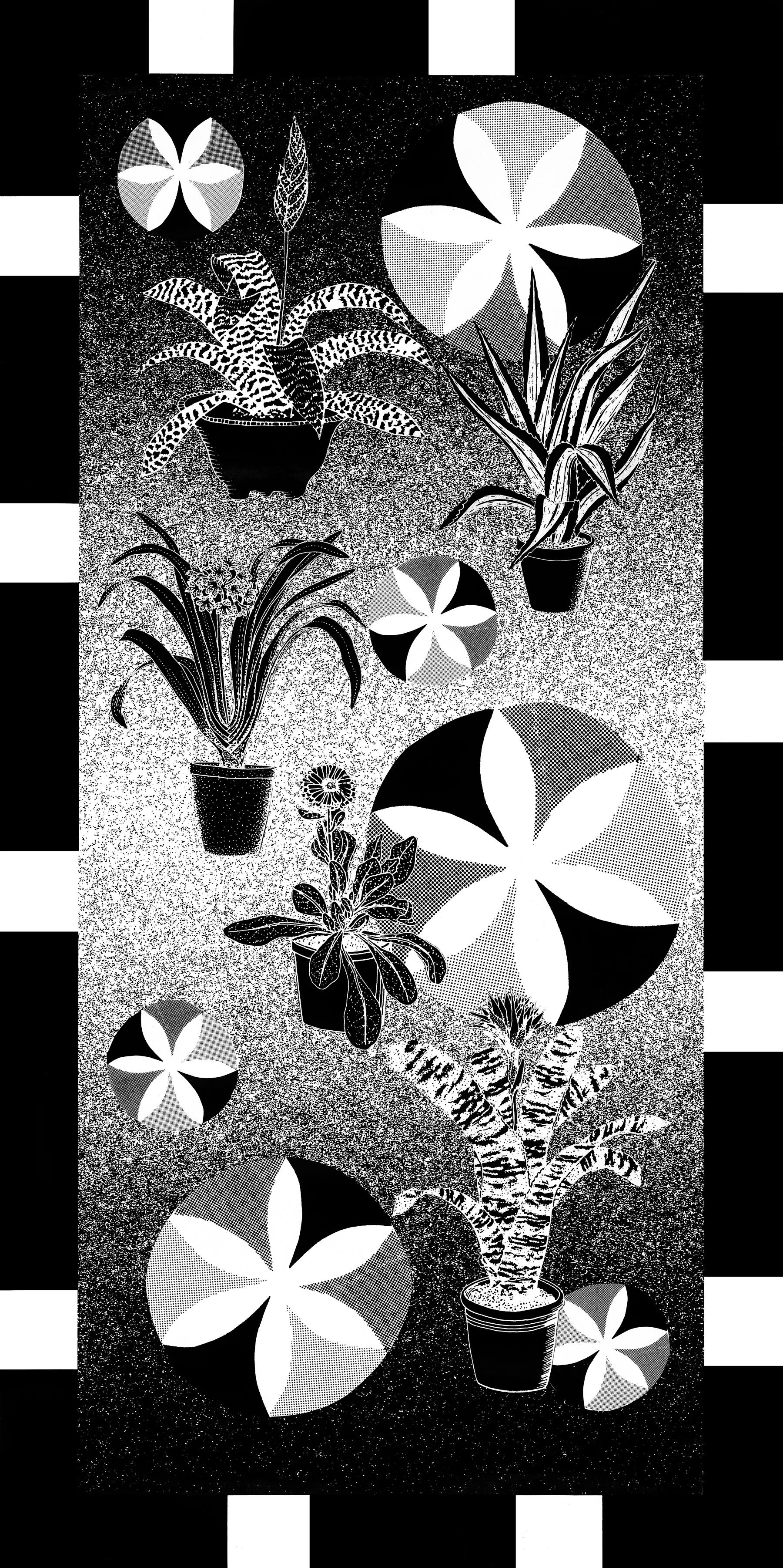 "Beach Towel  Alicia Nauta x Penny Arcade  60"" x 30"" cotton towel  Edition of 35  2017"