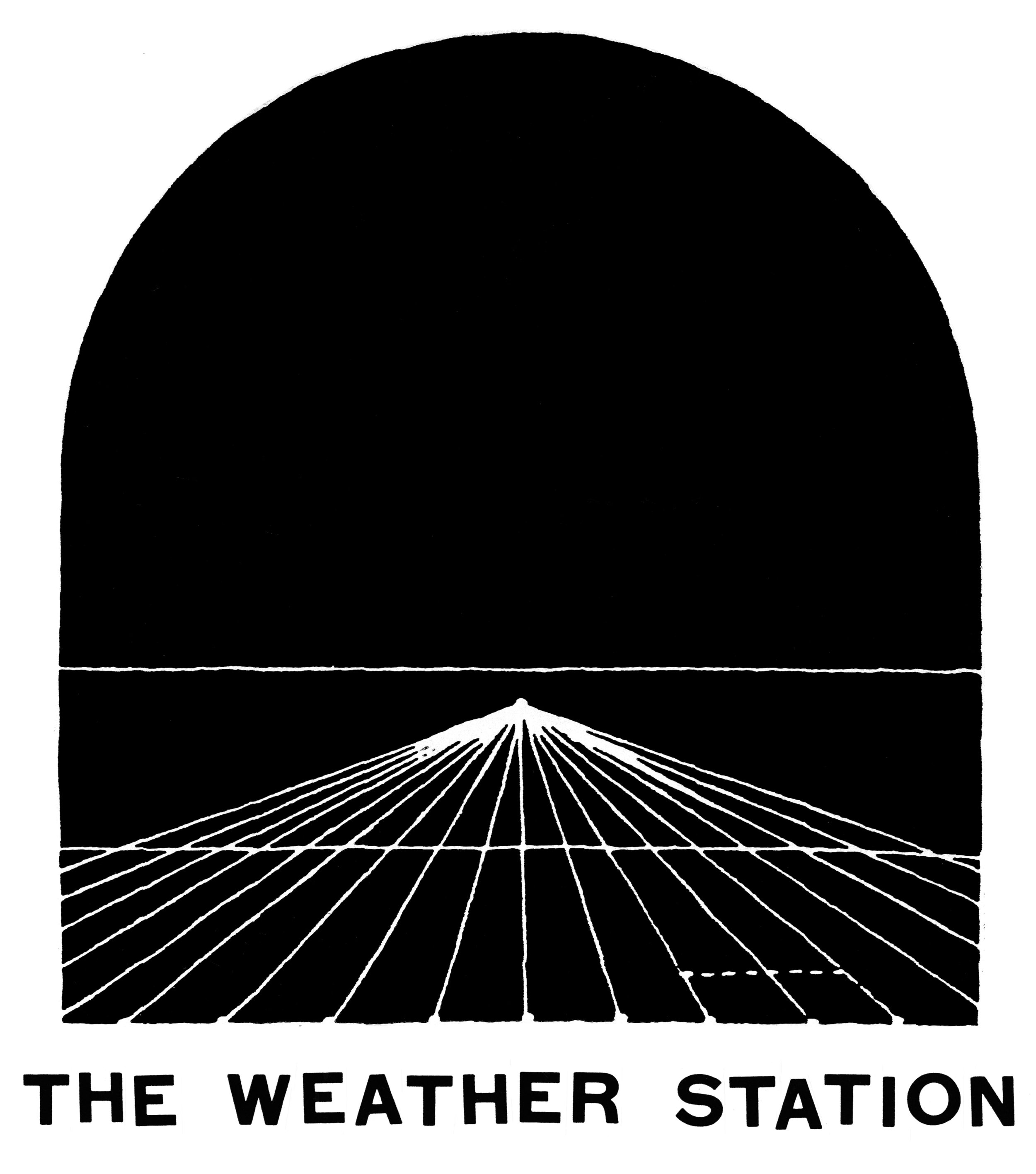 design for The Weather Station  for shirts and a backdrop  2017