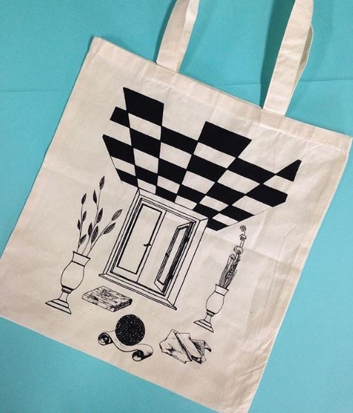 Losing the pattern  tote bag, open edition  2017