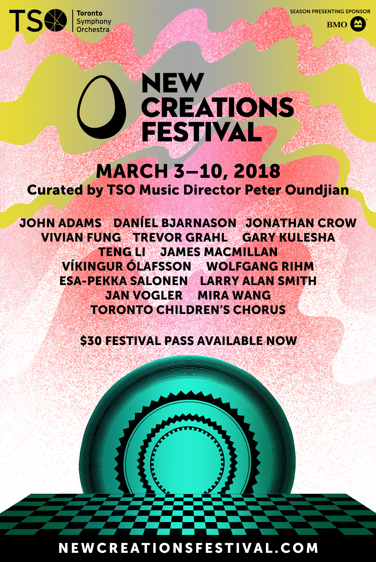 New Creations Festival 2018  alternate version  Toronto Symphony Orchestra