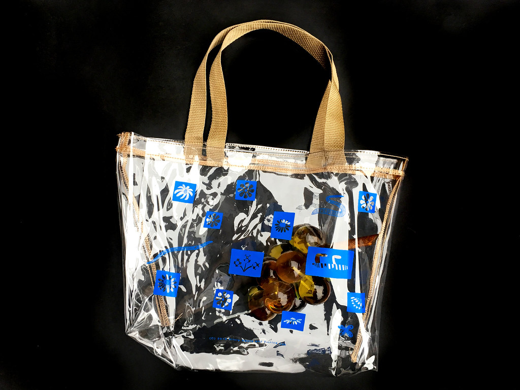 bug party pvc clear tote  Collaboration with Eunice Luk  edition of 200  2018
