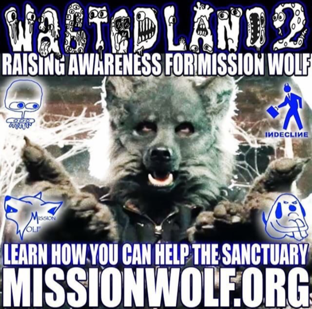 Just got hipped to this great cause by the infamous 907 crew.                                                     Click link for more info:  missionwolf.org