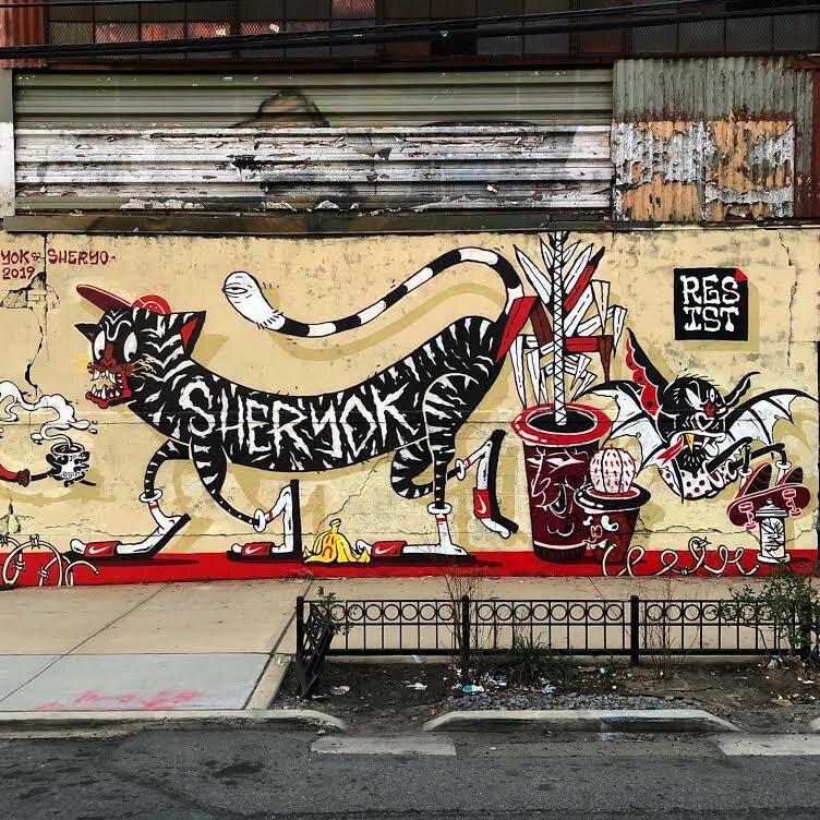 Yok & Sheryo in East Williamsburg, Bk October '19