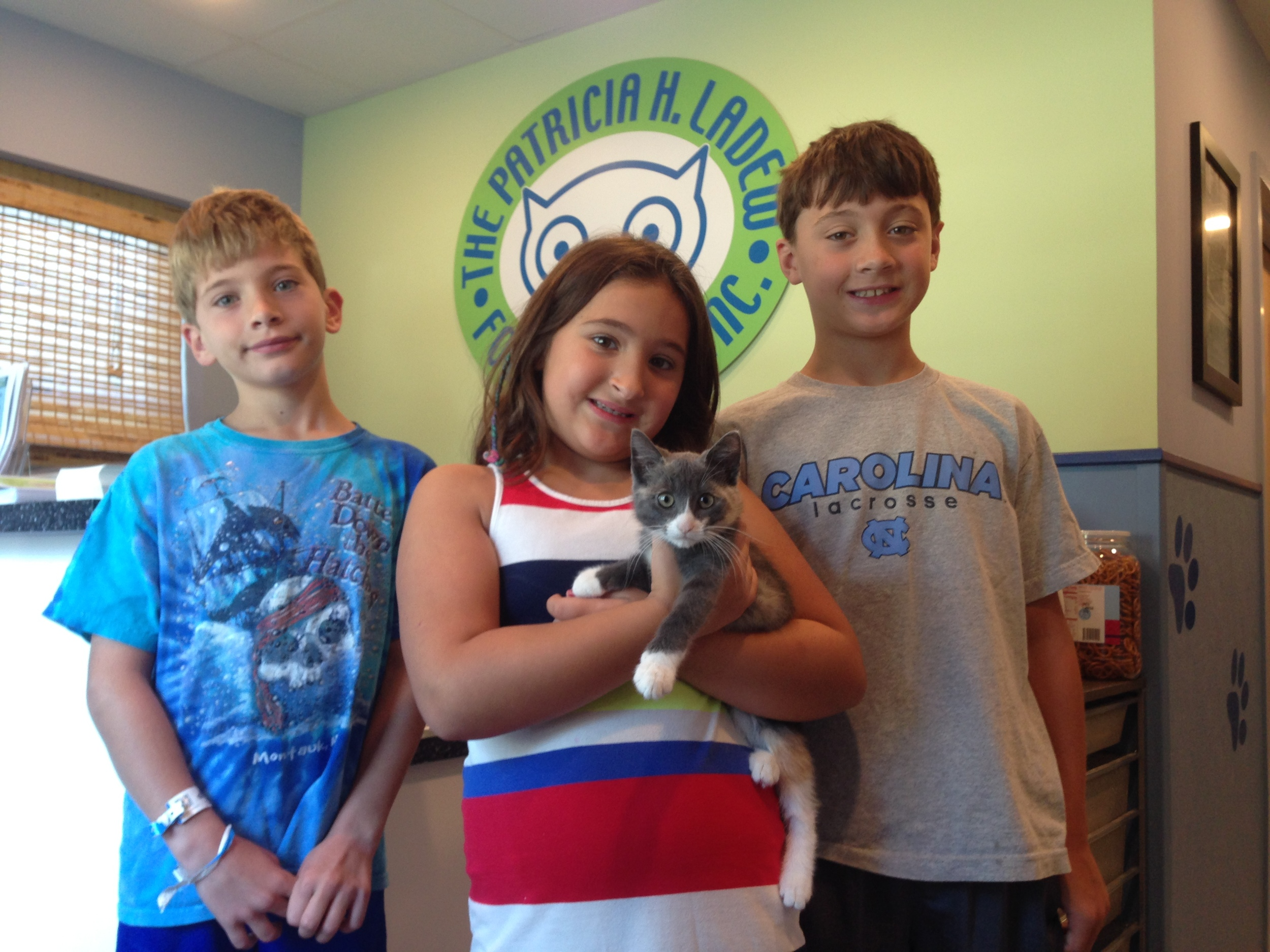 June and her new family