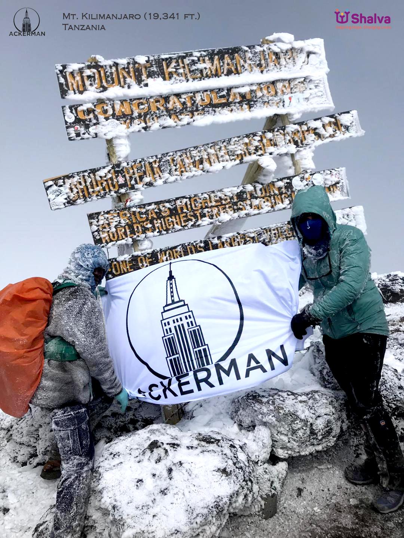 On Mt. Kilimanjaro with Shalva