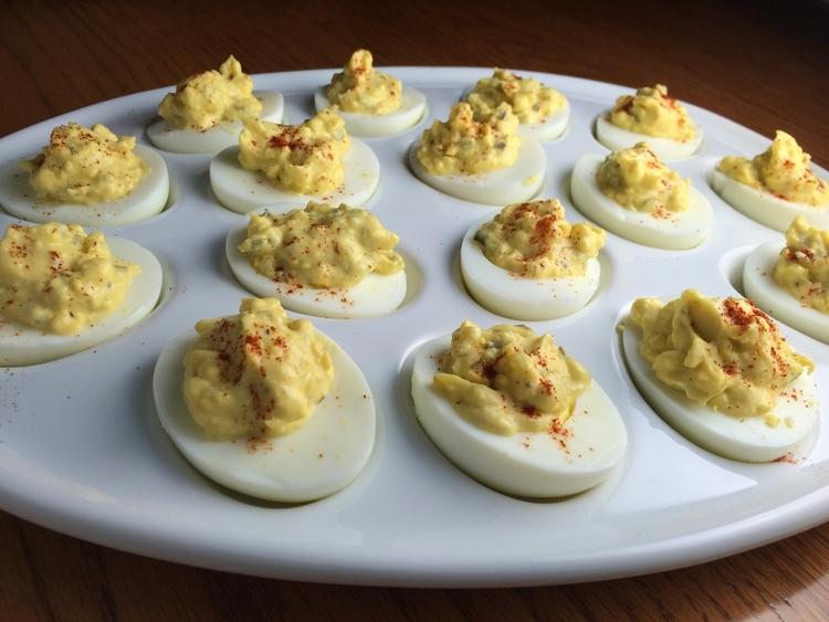 Old Fashion Deviled Eggs