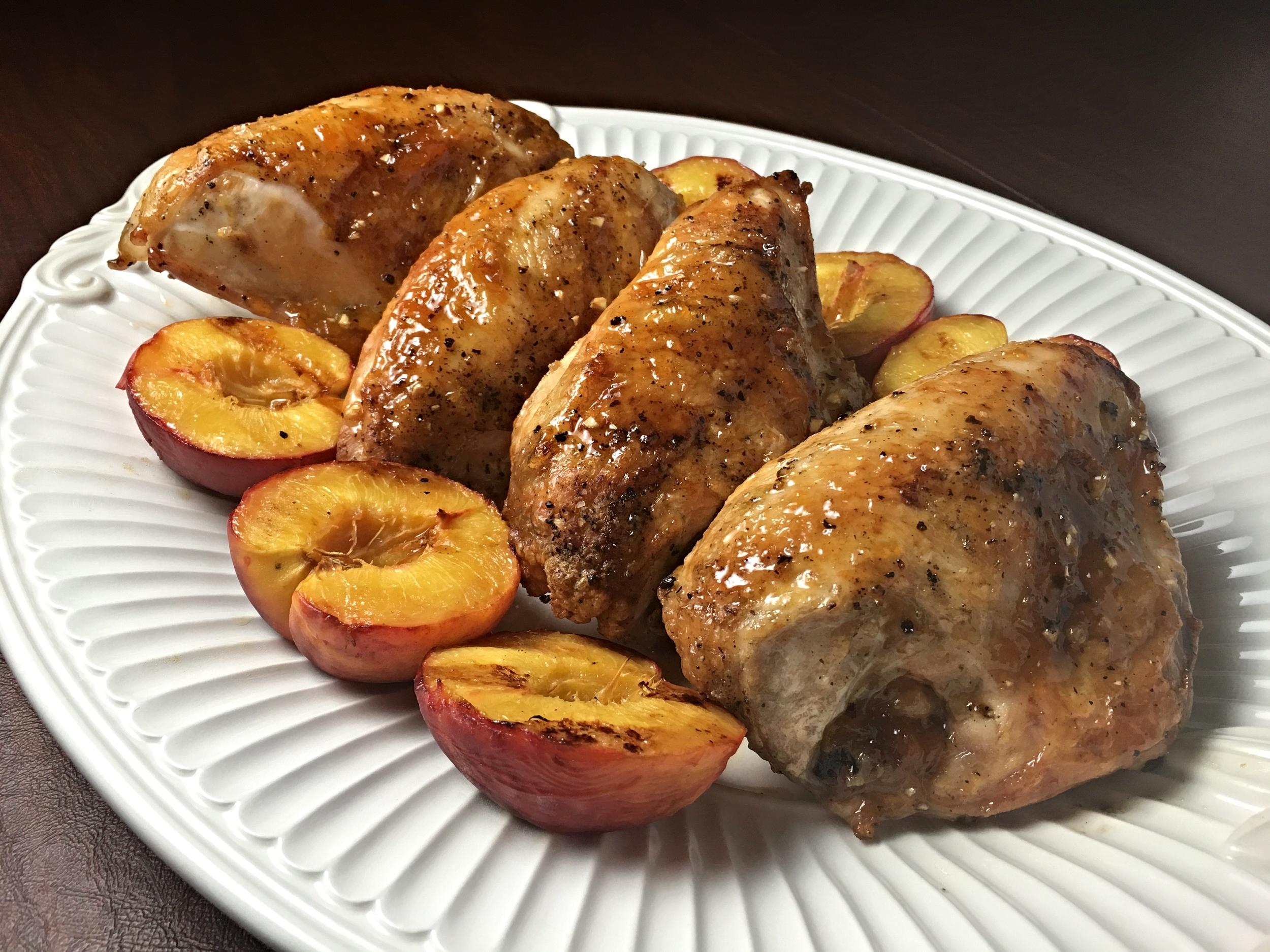 Peach Glazed Chicken