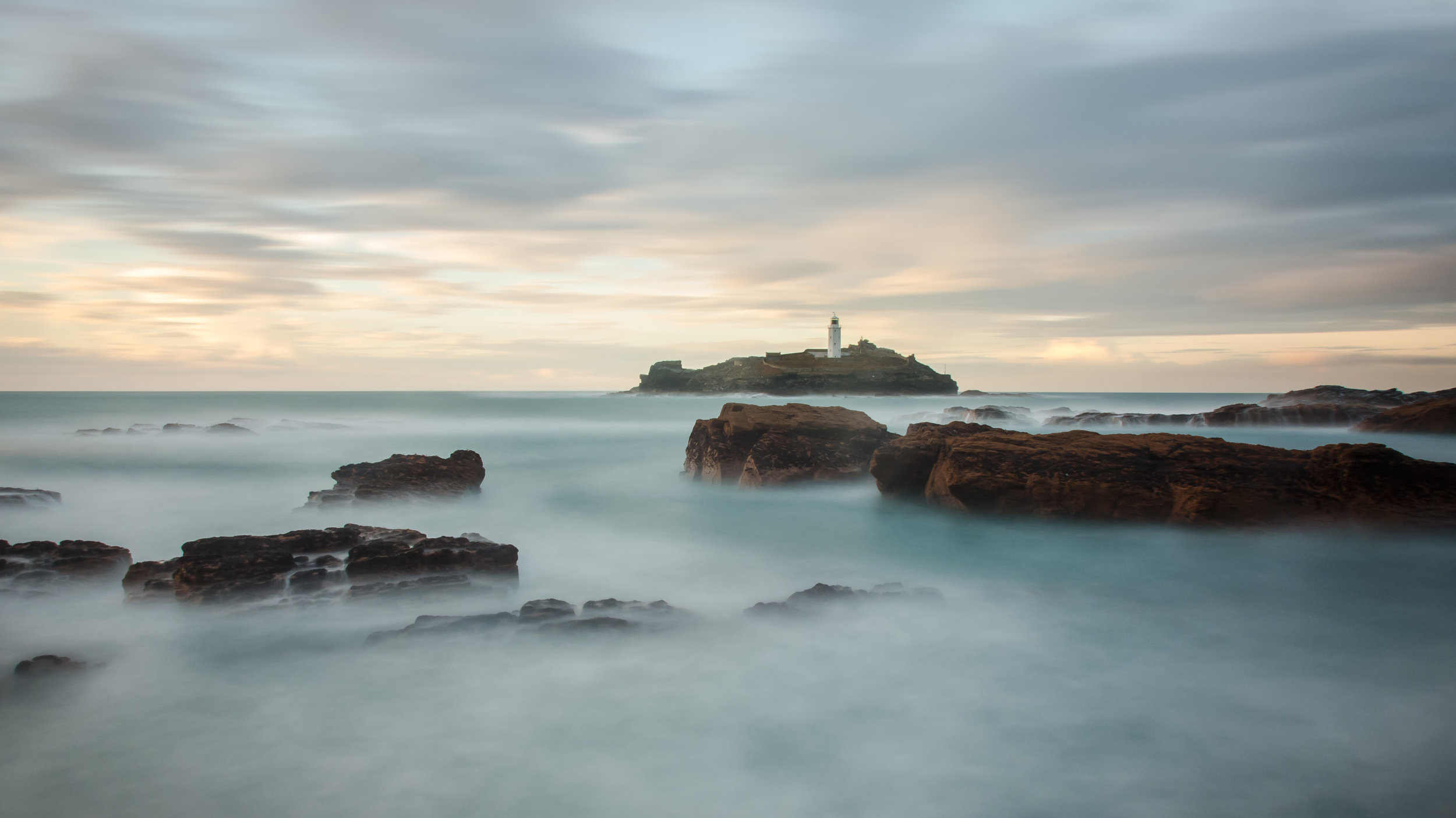 Godrevy at Sunset