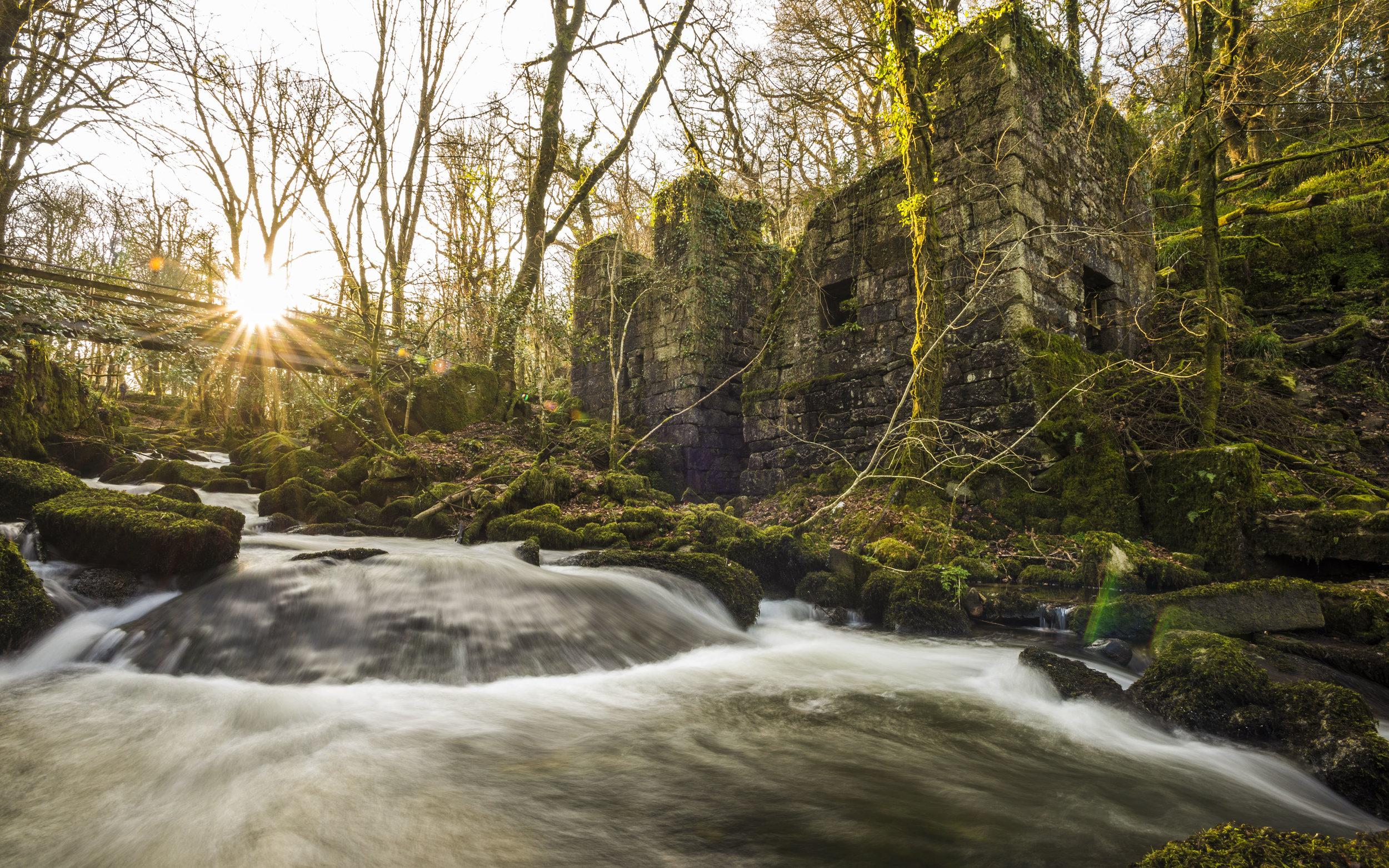 Kennall Vale Ruins