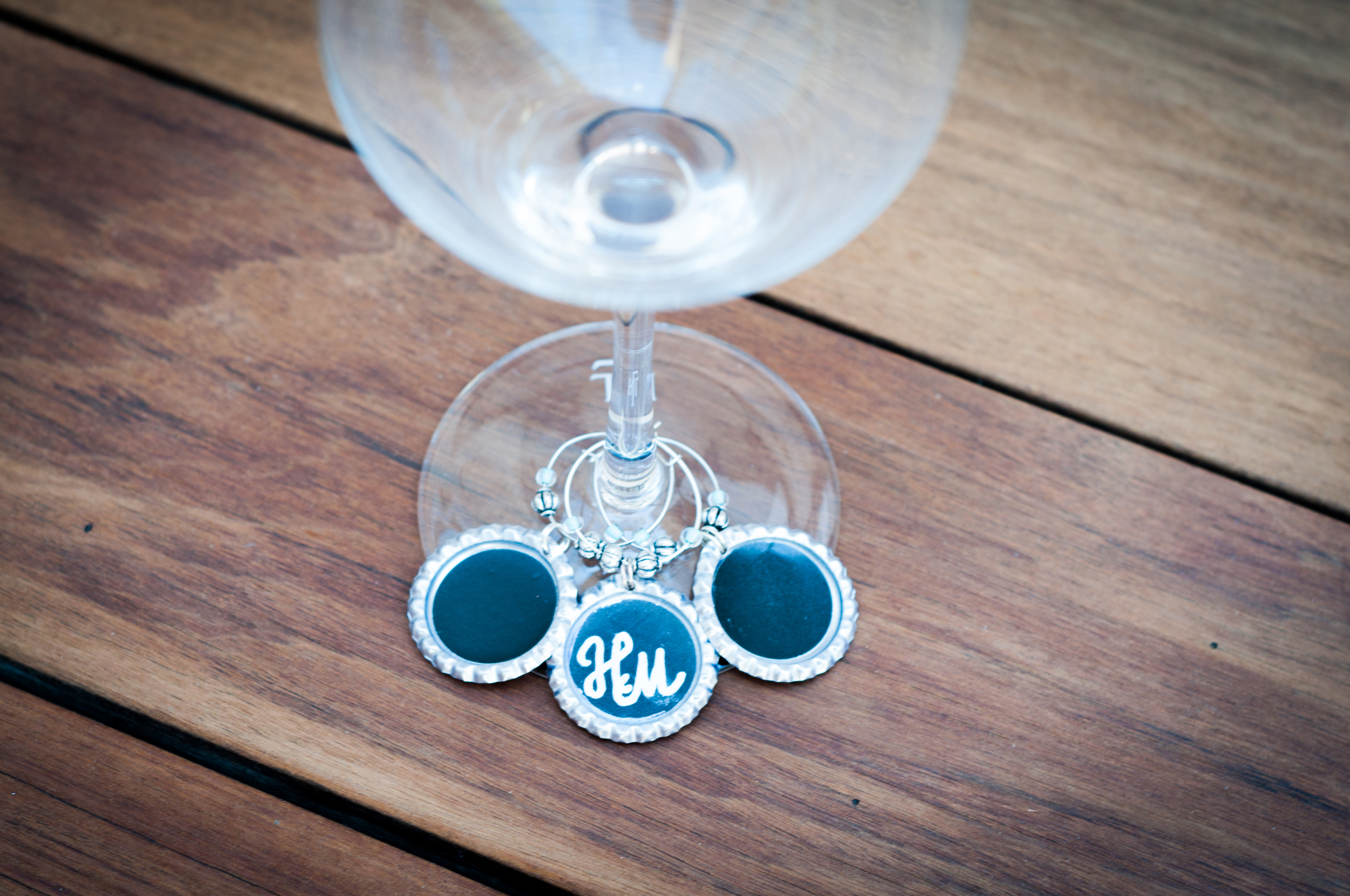 Chalk Wine Charms