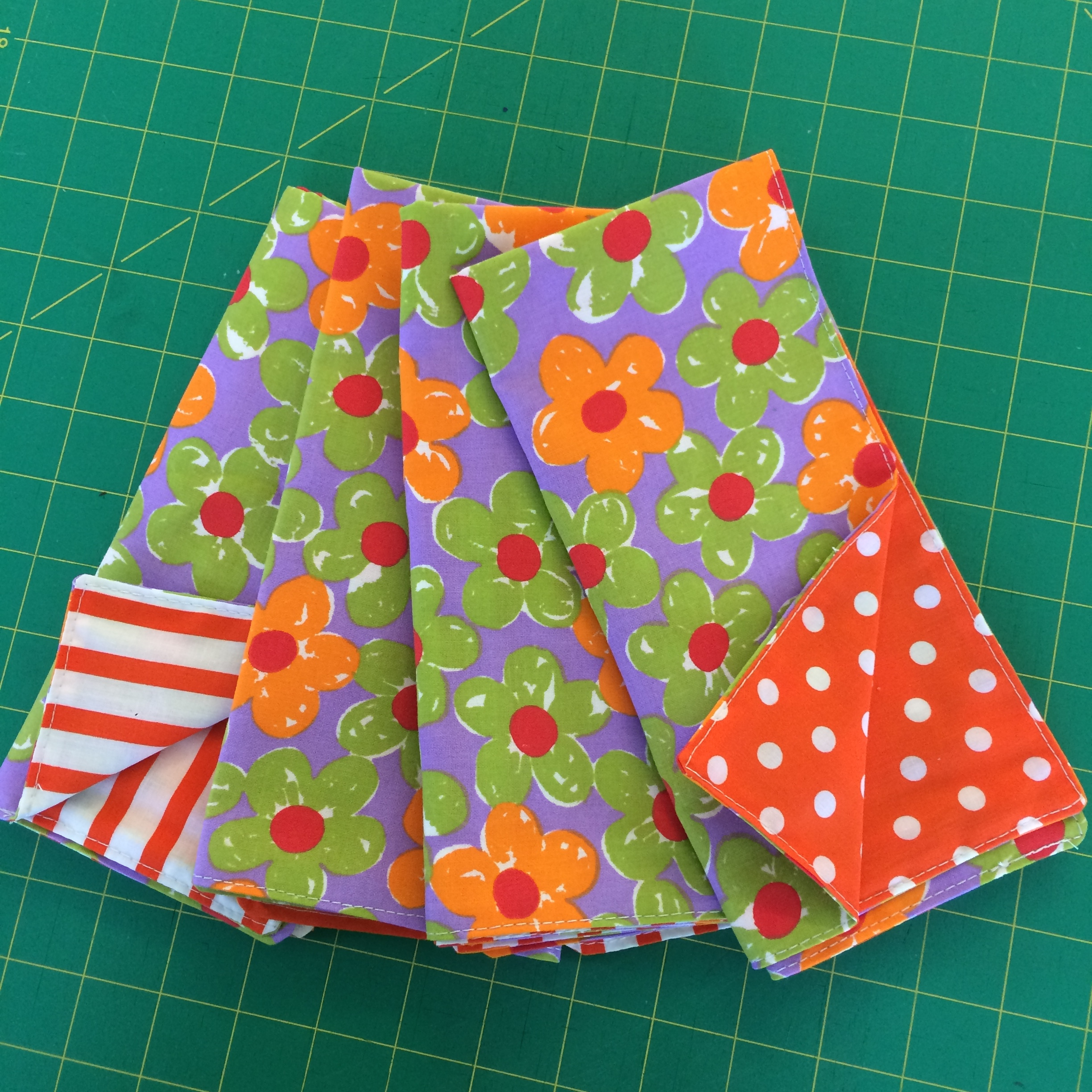 Reversible Happy Napkins!