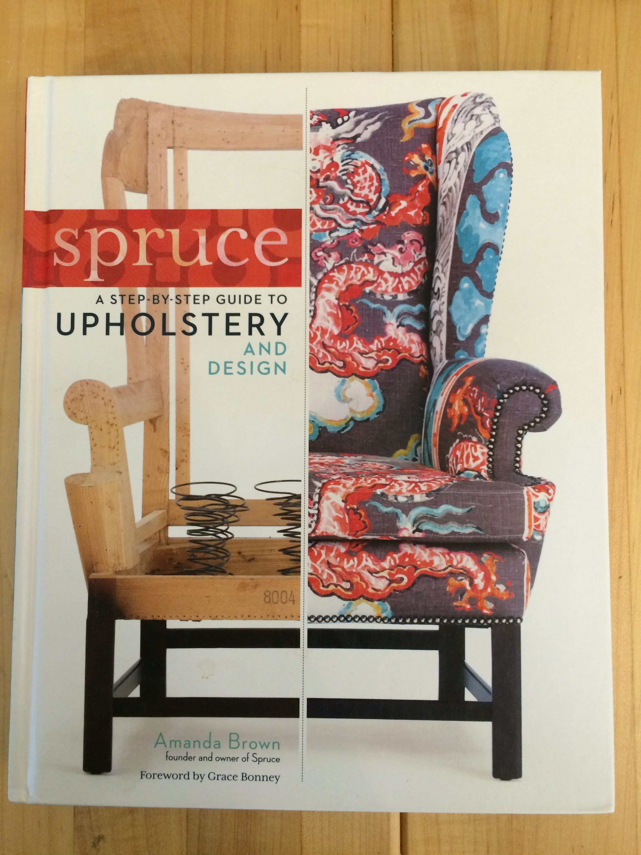 Stip-by-step Upholstery and Design