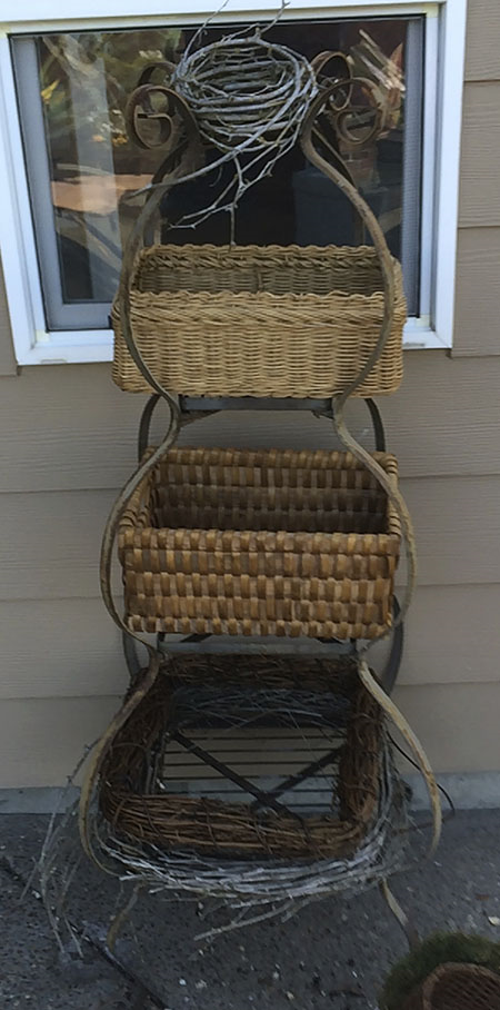New baskets to fit the shelves