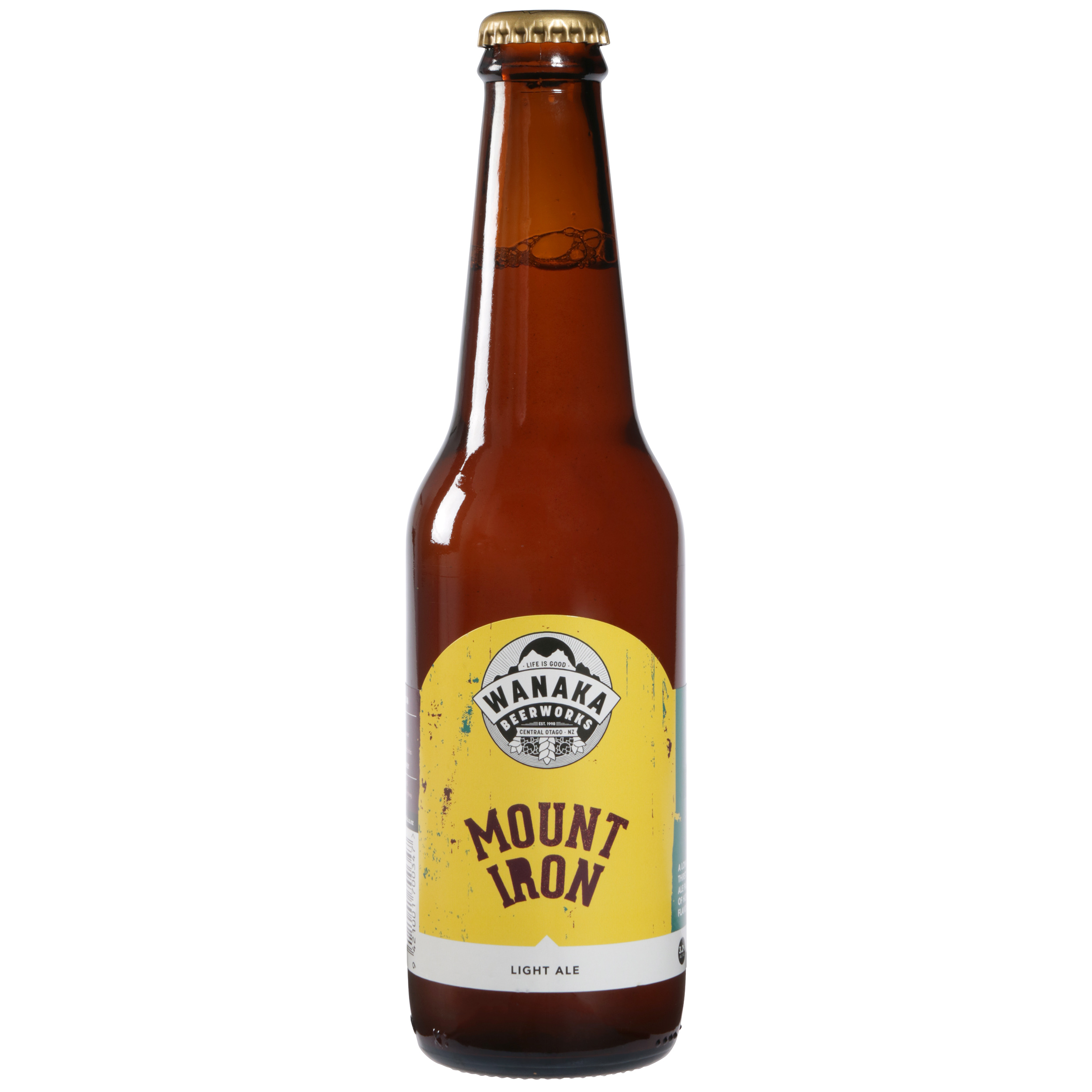 Mount Iron   Light Ale (3.2% ABV)  A Light thirst quencher ale packed full of Hop and Malt flavour