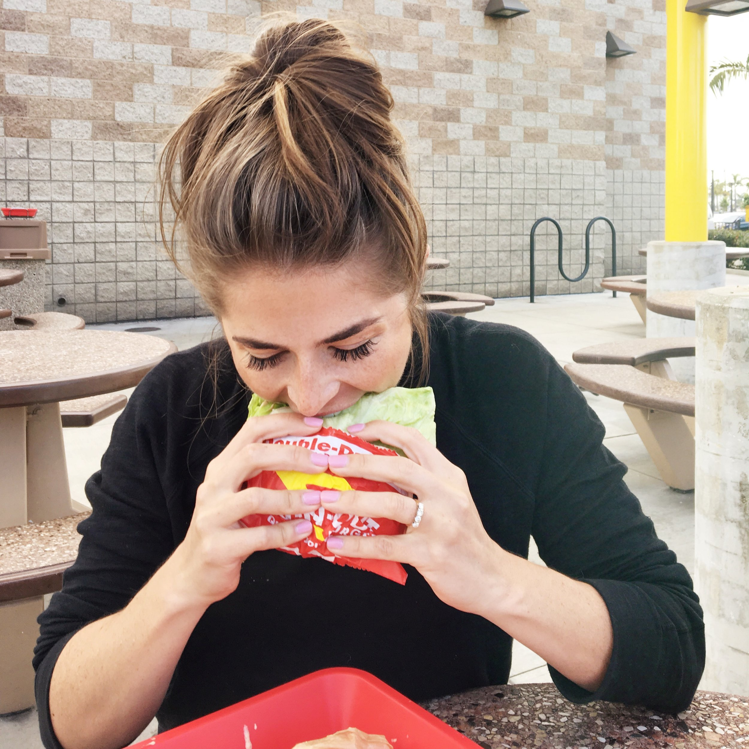 You better believe I get In-N-Out every time I'm in LA, but it's always on the final day.