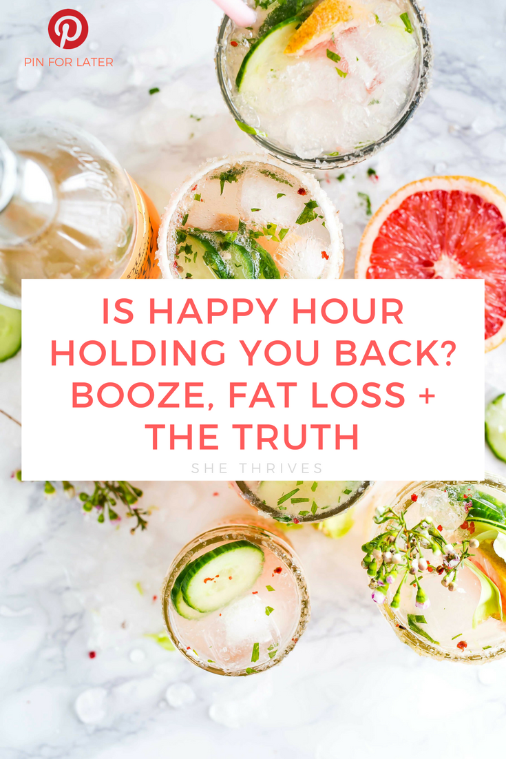 How alcohol is holding your fitness goals hostage