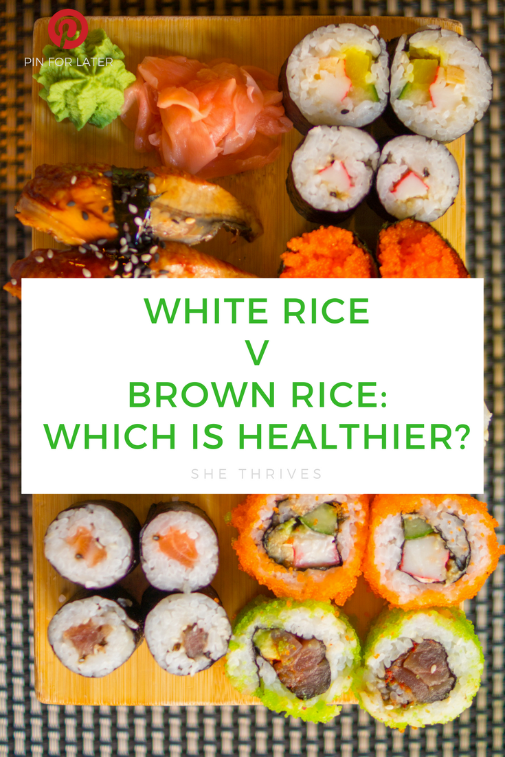 BROWN RICE VS WHITE RICE WHICH IS HEALTHIER?