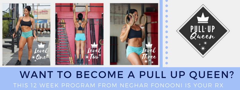 how to get your first strict pull up