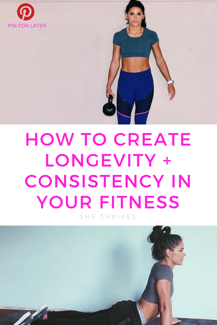 FIT DESIGNS BY ANNIE x SHE THRIVES | Creating Consistency in Your Training