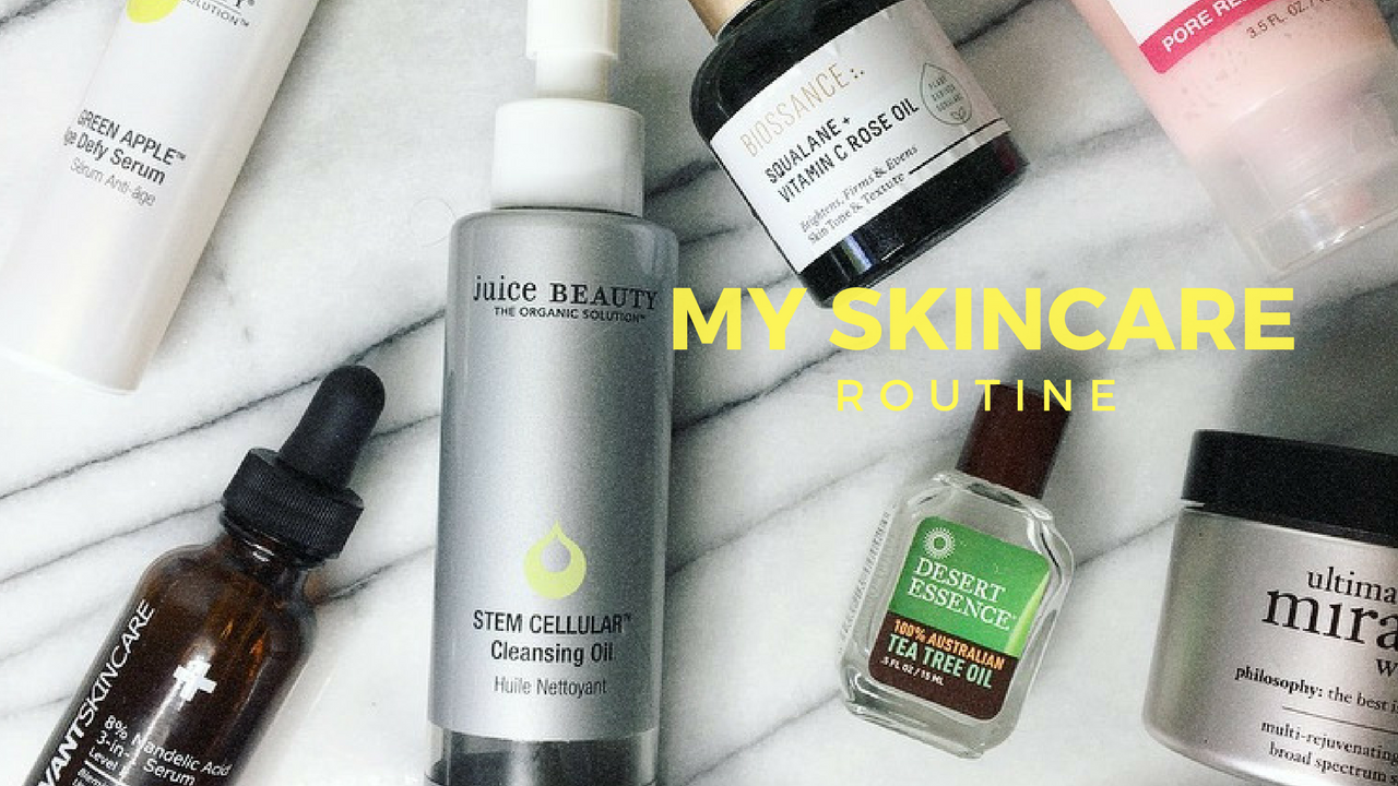 My Skincare Routine | She Thrives
