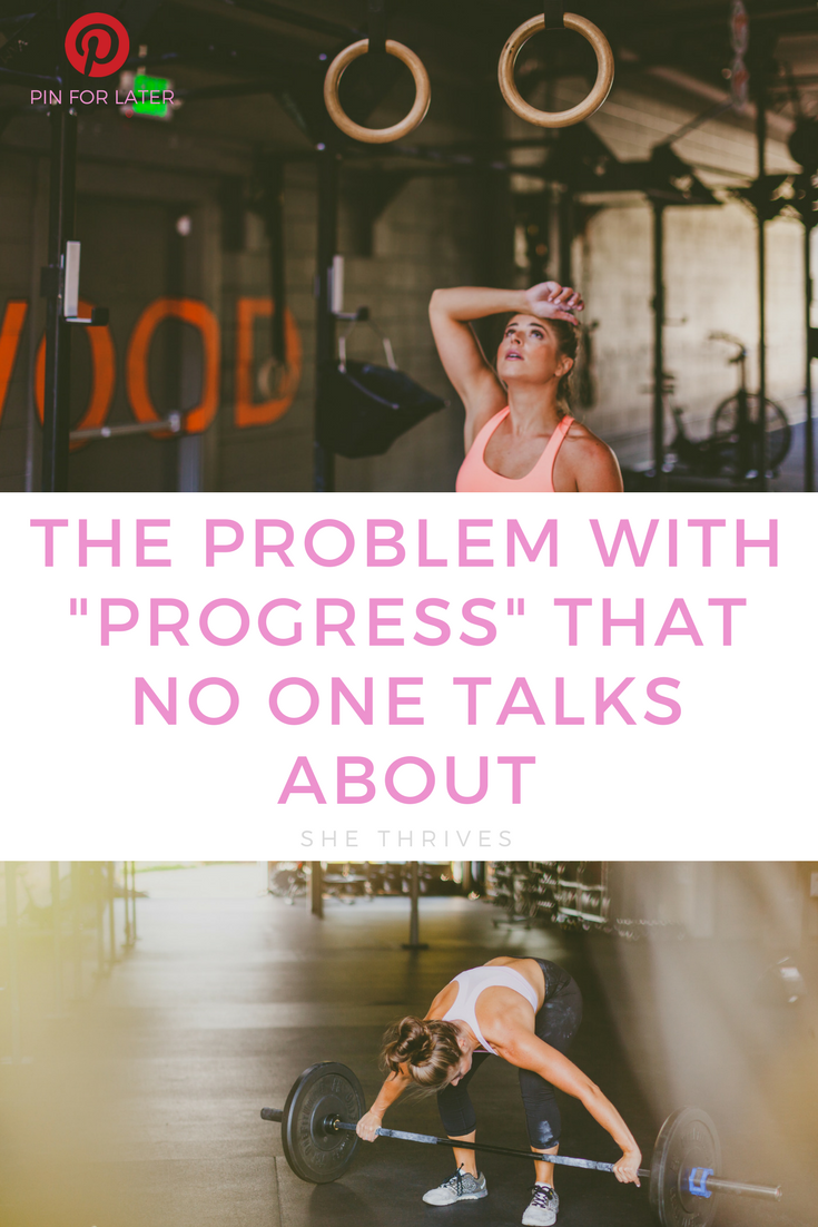 The Problem with Progress That No One Talks About | SHE THRIVES