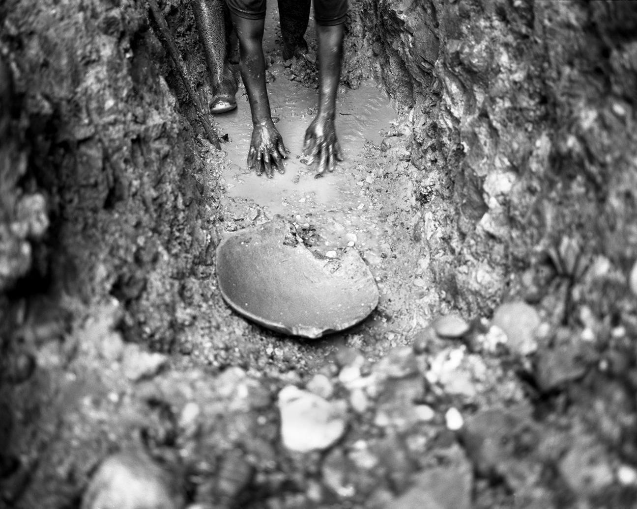 Maria Aide Ibalbuen en su mina, La PLanta.jpg