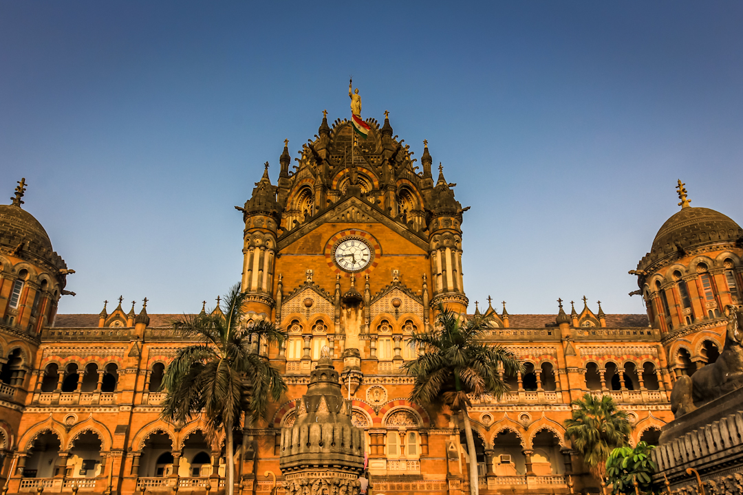 Mumbai Central in the State of      Maharashtra     . Built by the British when Mumbai was known as Bombay, the station boast Victorian era architecture