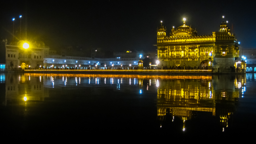 The Golden Temple in Amritsar, Punjab