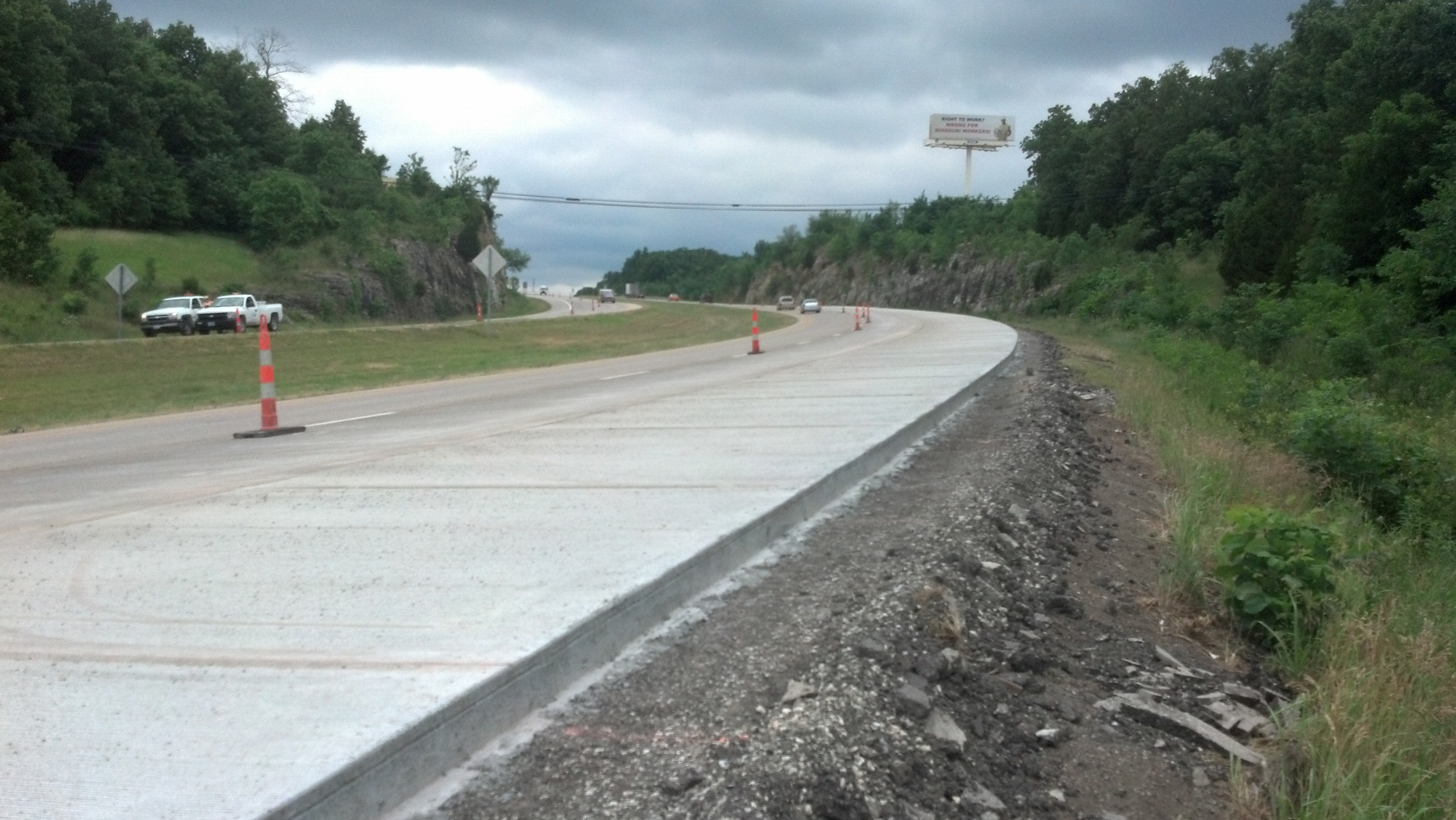 Rte. 54 J Turn Safety Improvements Brazito, MO