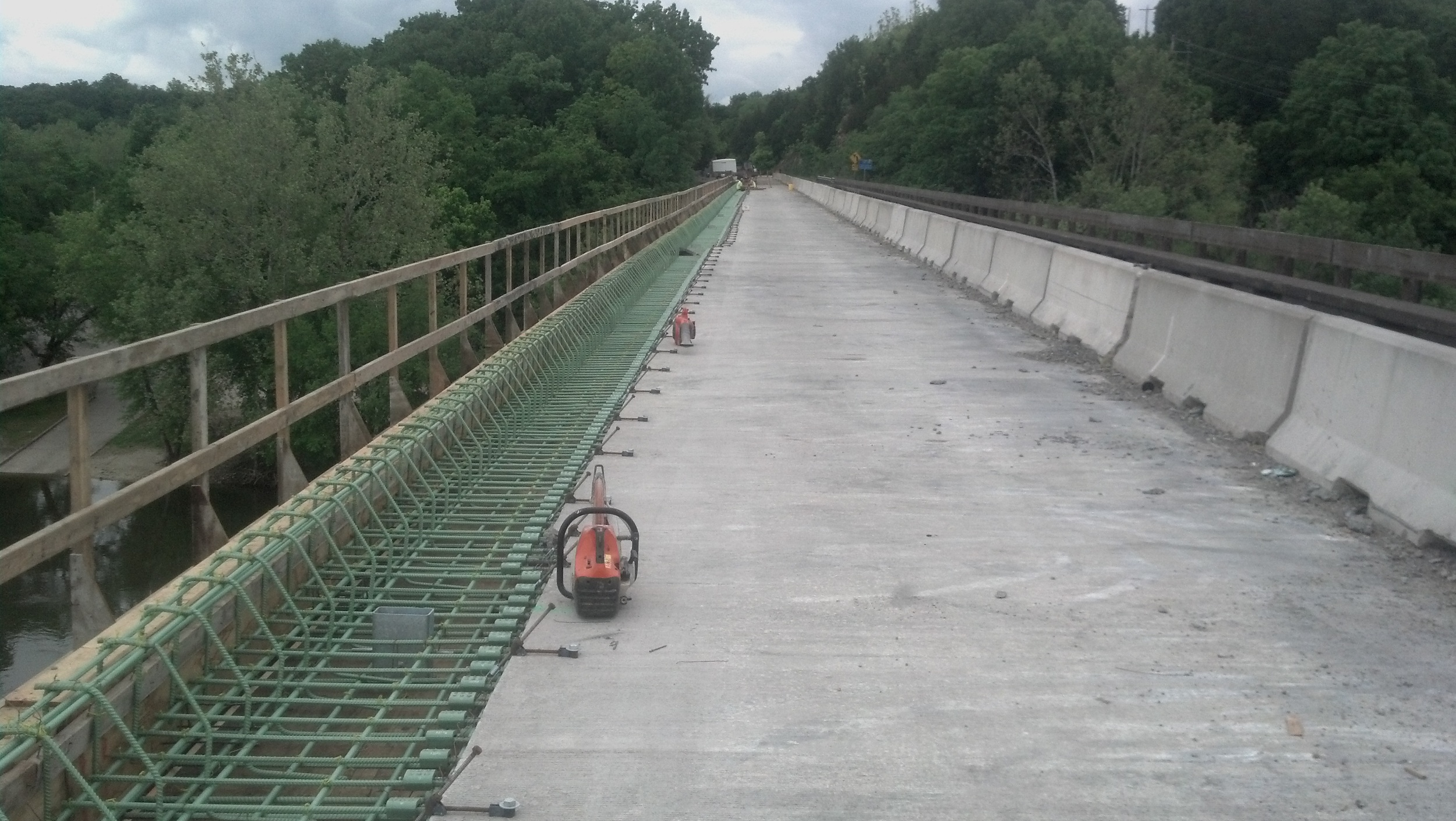 Rte. B Bridge Rehab over Osage River St. Thomas, MO