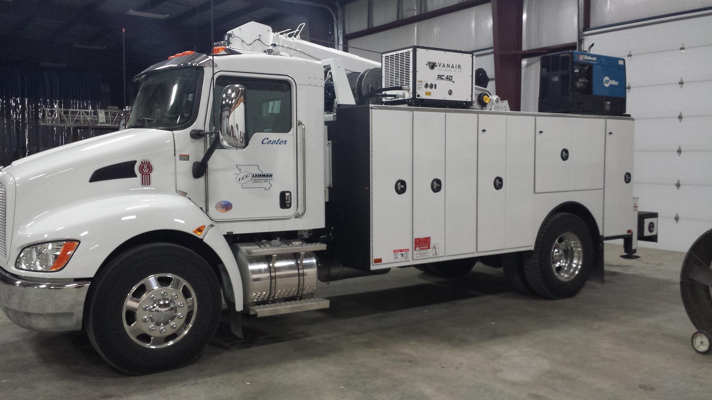 Kenworth service truck