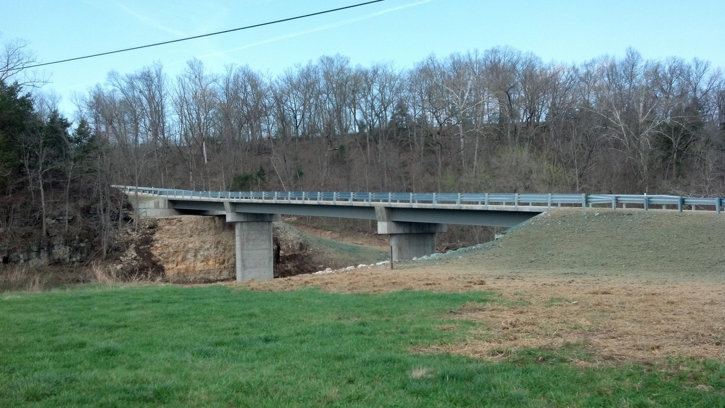 St. Anthony, MO Buechter Rd Bridge