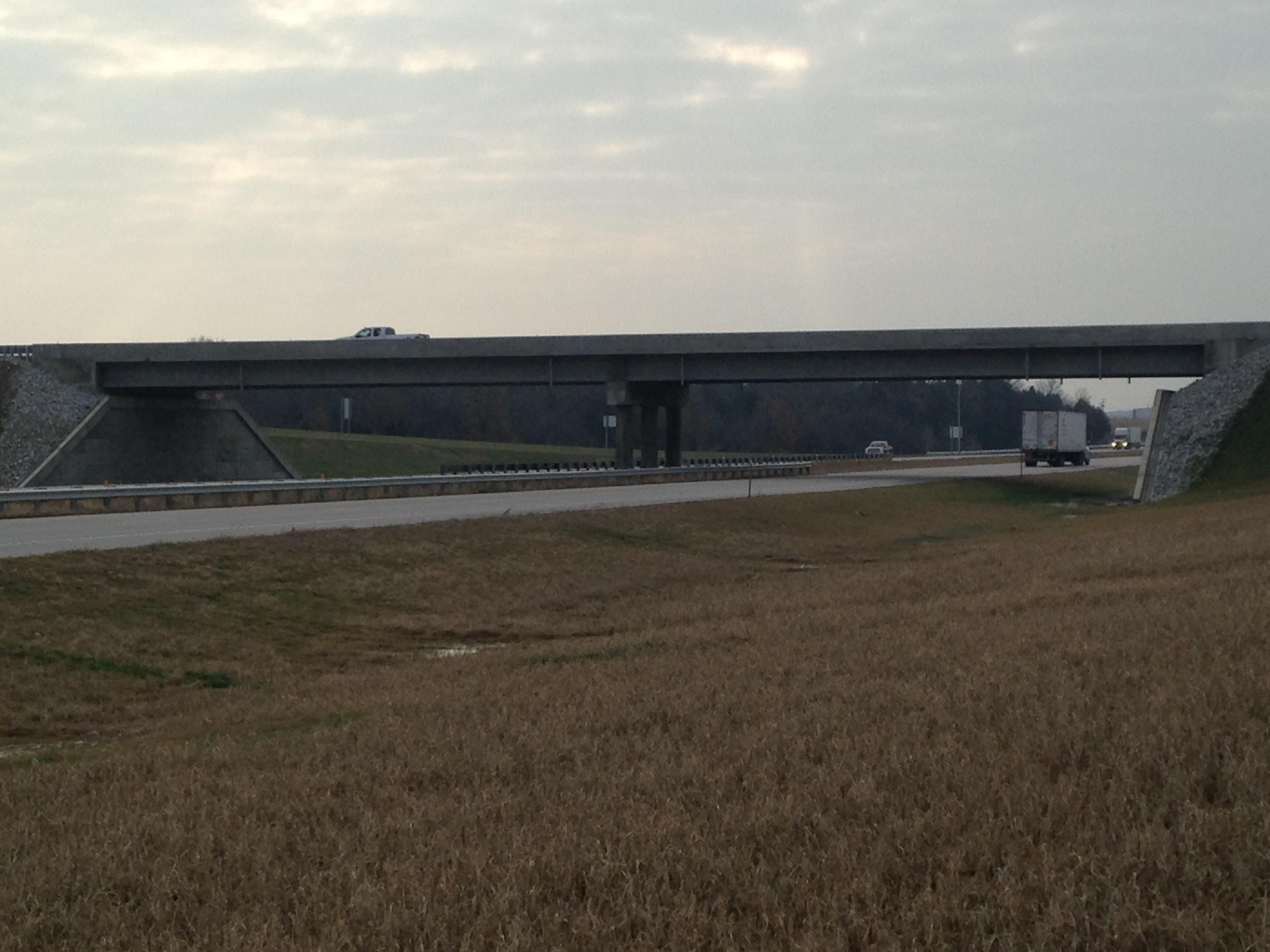Rt. 82 overpass on Rt. 13 Osceola, MO