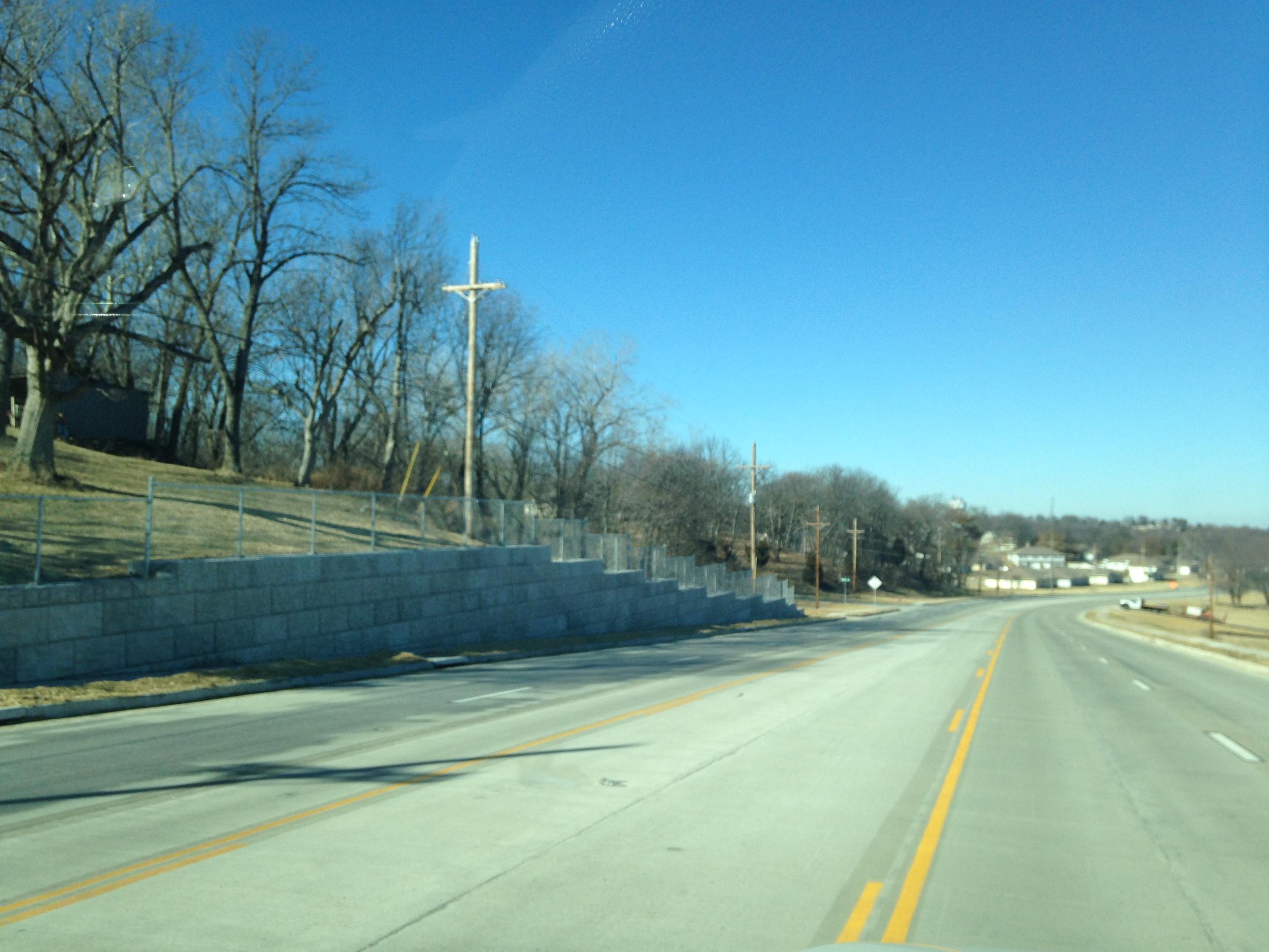Rte. F widening, Oak Grove, MO
