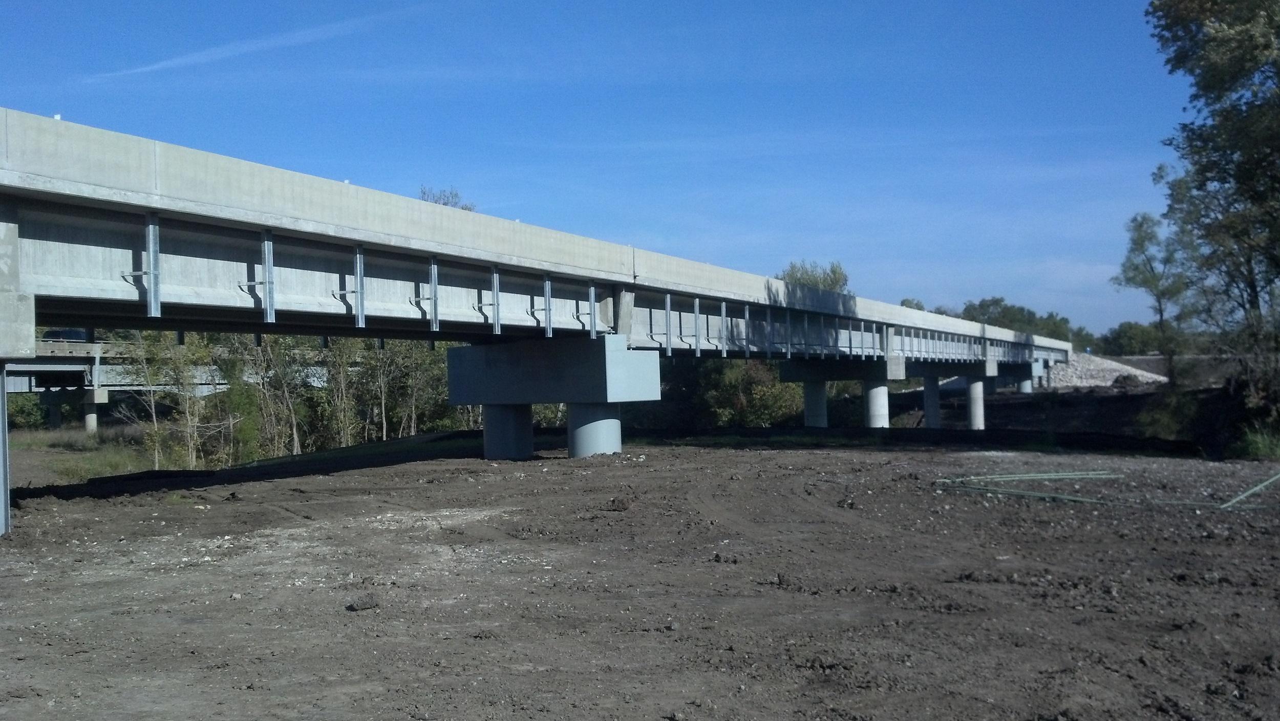 Rte. 71 Outer Rd Bridge, Bates City, MO
