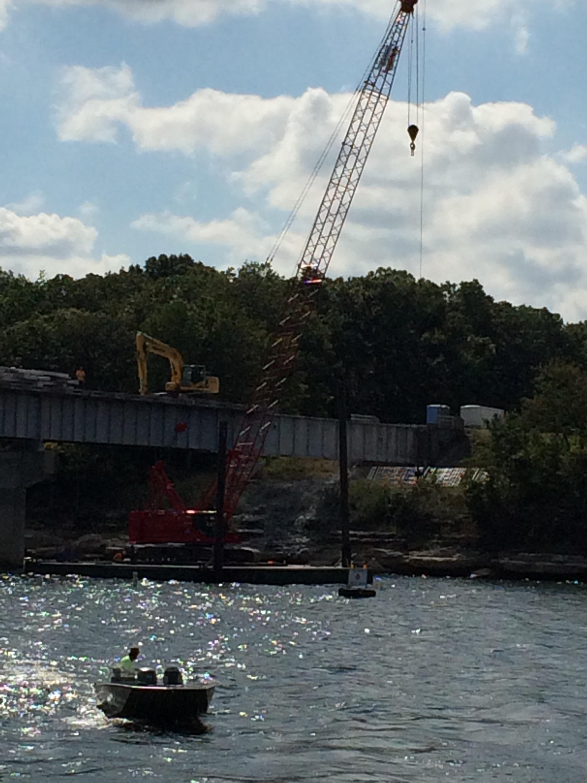 Rte. 215 Bridge redeck over Stockton Lake
