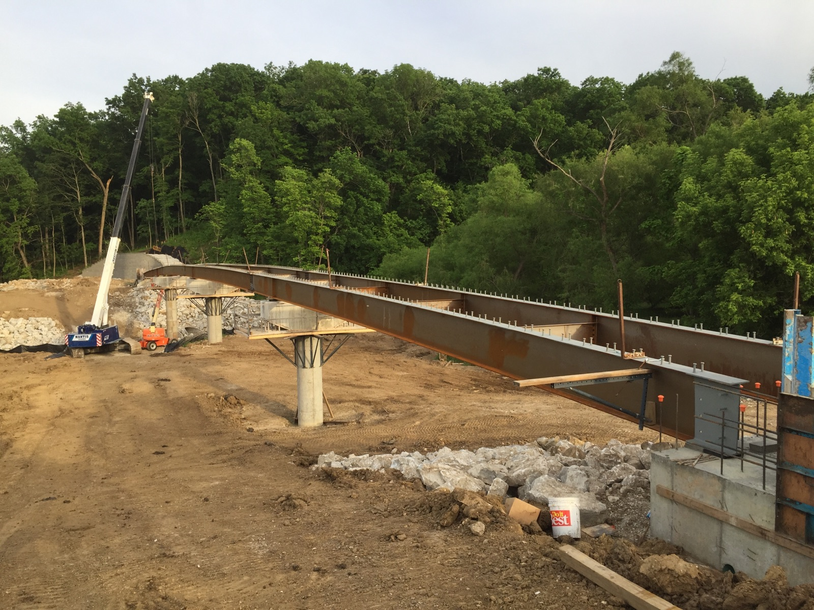 Forum Blvd Trail Bridge over Hinkson Creek, Columbia, MO