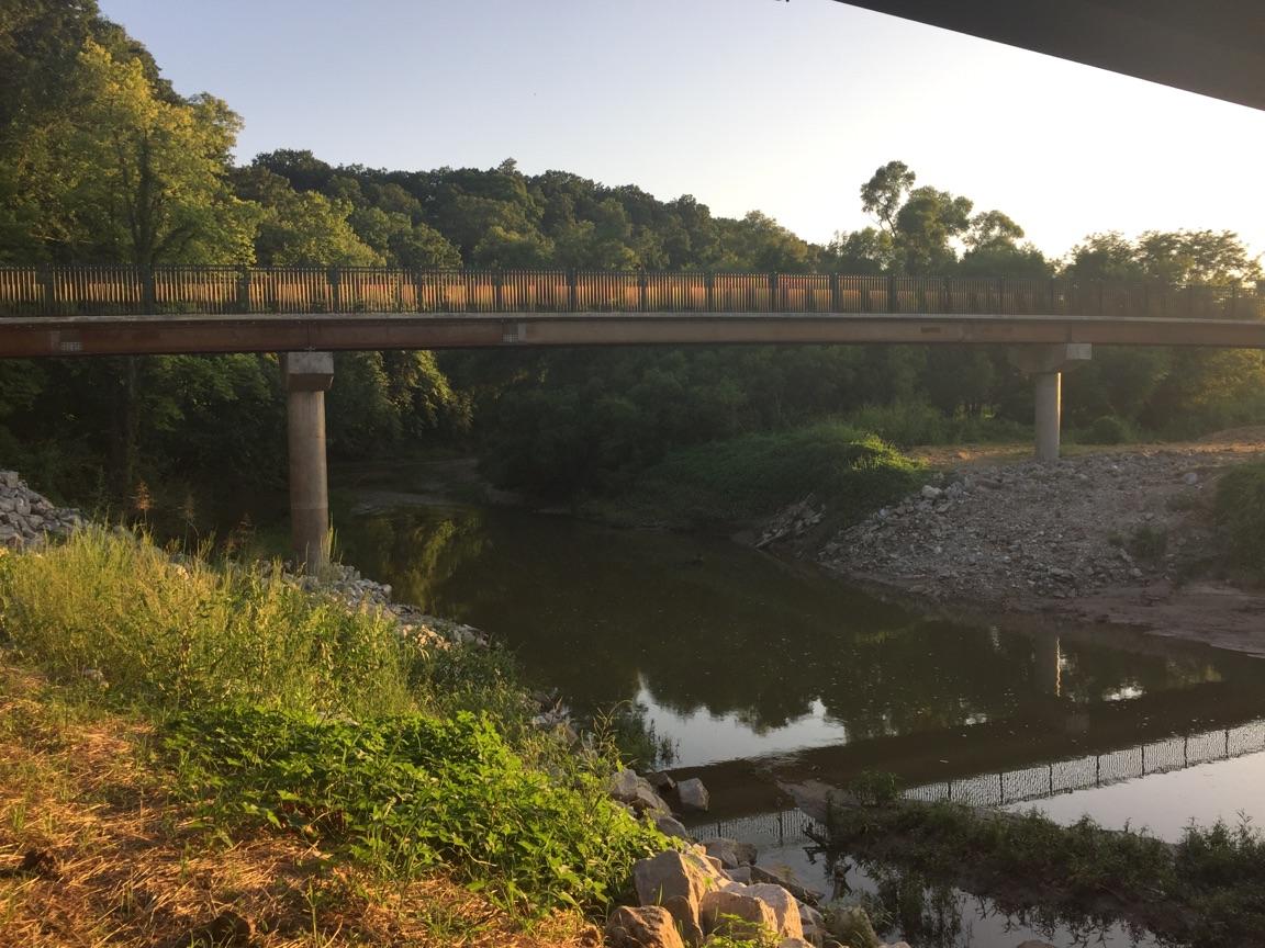 Forum Blvd Trail Bridge over Hinkson Creek