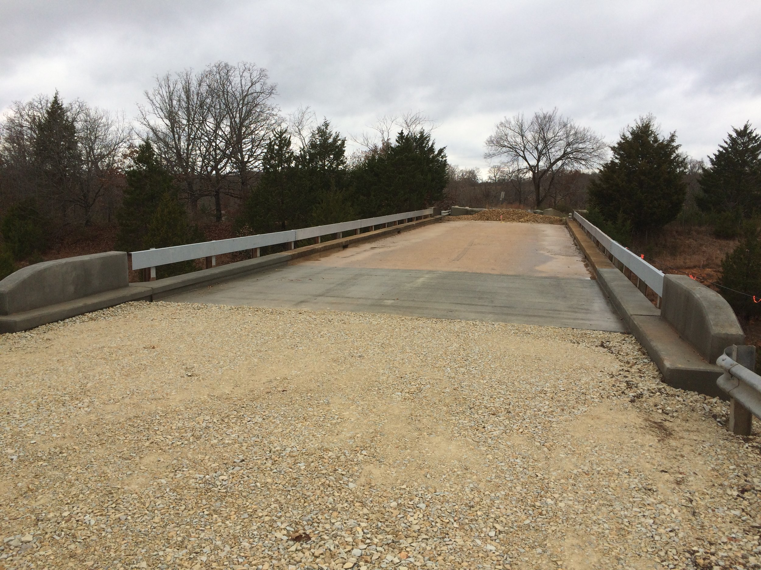 Crawford County HOBO Rd Bridge End Rehab