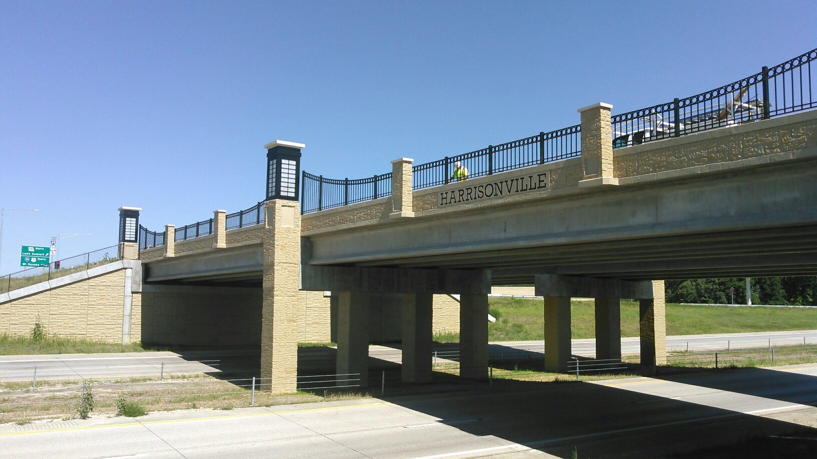 Harrisonville, MO Bridge over I-49