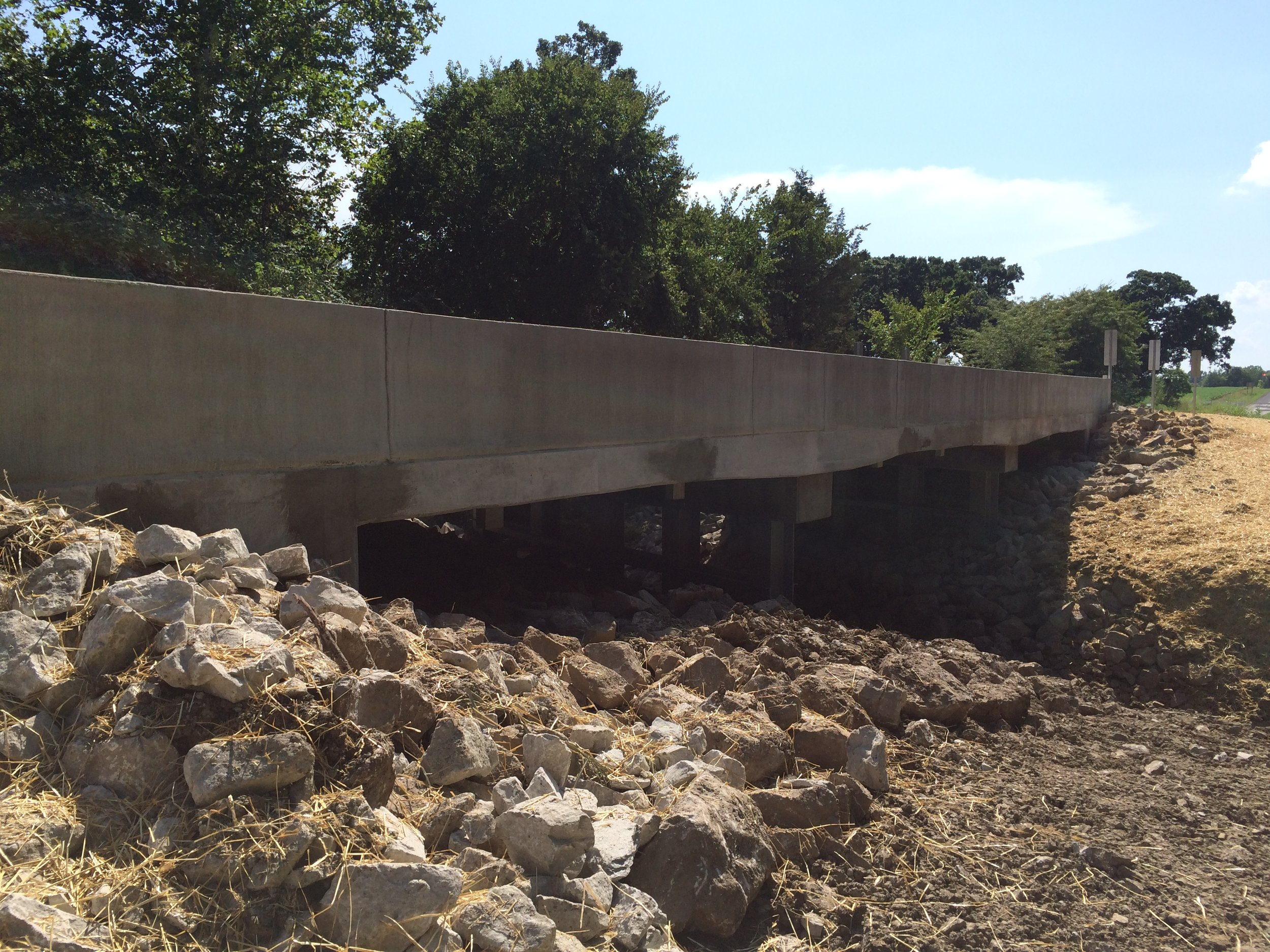 Rte B Papinville, MO Haunch Slab Bridge