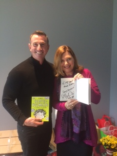 Olympic Gold Medalist Duncan Armstrong requested a copy of My Name is Bertie Poshkza to take home and read with his 9 year old daughter