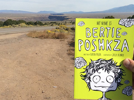 Bertie on the road to Sante Fe USA – another school to visit!!