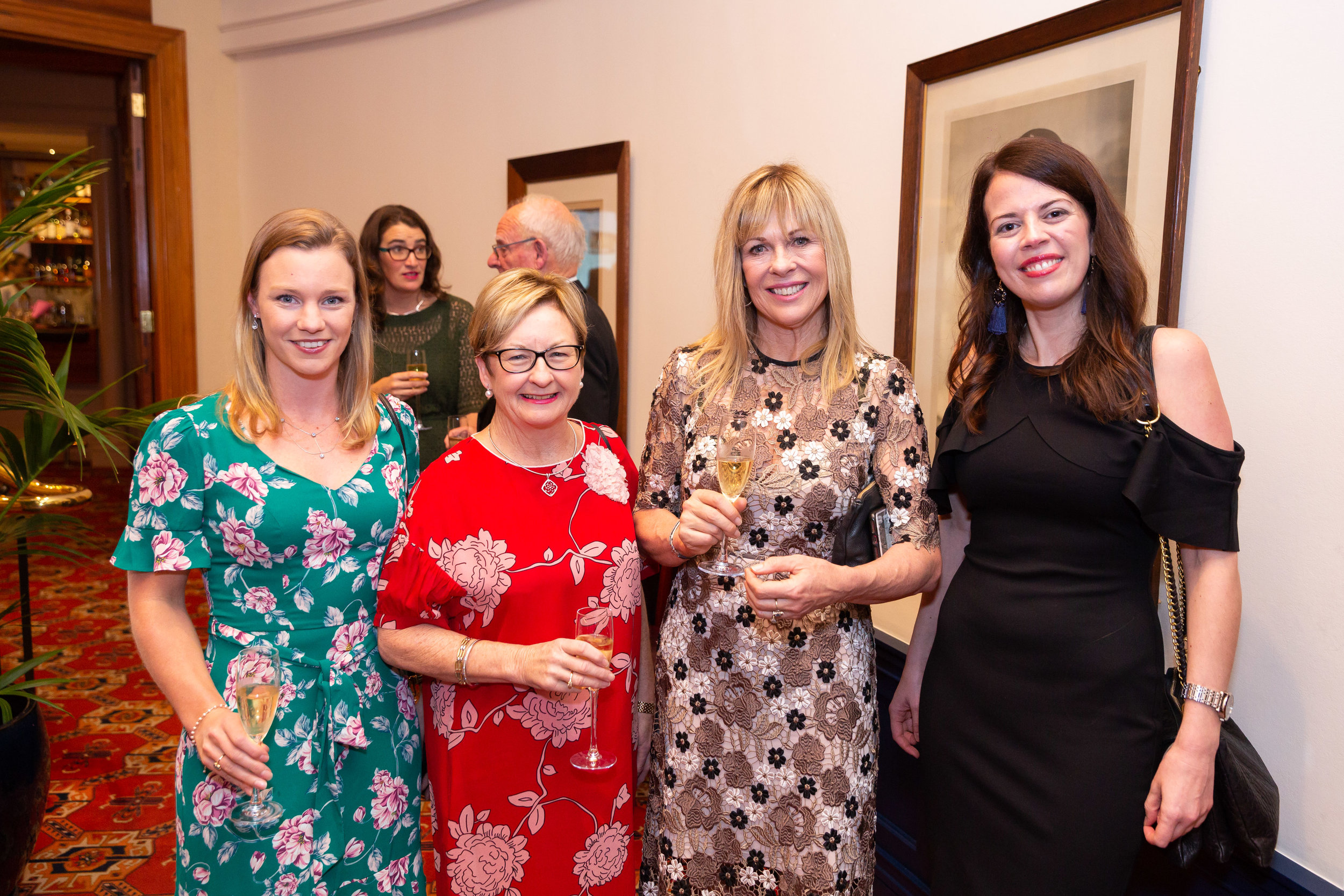 ANNUAL MEMBERS AND DAUGHTERS DINNER WITH ANNABEL LANGBEIN, MAY 15 2018