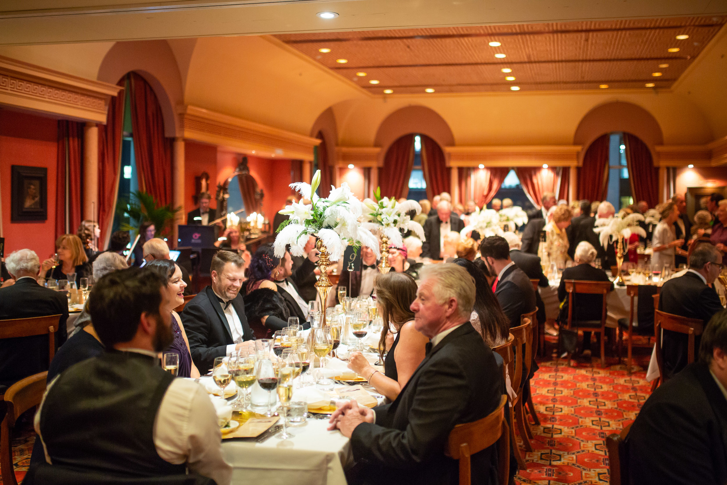 RMS TITANIC DINNER, 11 APRIL 2018